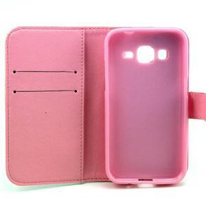 Pouzdro na mobil Samsung Galaxy Core Prime - sova - 7
