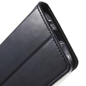 Moon PU kožené pouzdro na mobil Samsung Galaxy Core Prime - černé - 7