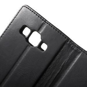 Moonleather PU kožené pouzdro na Samsung Galaxy Core Prime - černé - 7