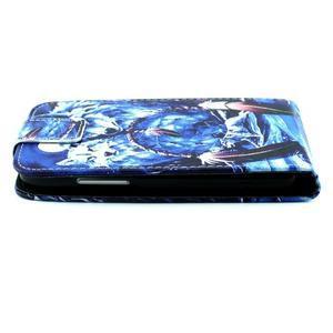 Flipové pouzdro na mobil Samsung Galaxy Core Prime - magičtí vlci - 7
