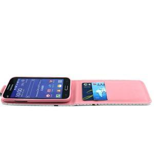 Flipové pouzdro na mobil Samsung Galaxy Core Prime - sova - 7
