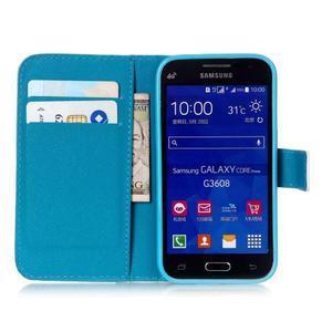 Knížkové pouzdro na Samsung Galaxy Core Prime - pampeliška - 7