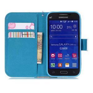 Pictu pouzdro na mobil Samsung Galaxy Core Prime - malované květy - 7
