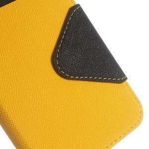 Roar PU kožené pouzdro s okýnkem na Samsung Galaxy J3 (2016) - žluté - 7