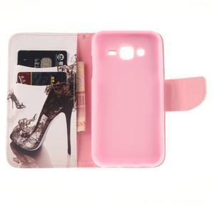 Standy peněženkové pouzdro na Samsung Galaxy J5 - pekelný střevíc - 7