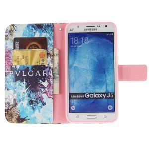 Standy peněženkové pouzdro na Samsung Galaxy J5 - BVL - 7