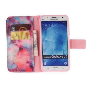 Standy peněženkové pouzdro na Samsung Galaxy J5 - malba - 7