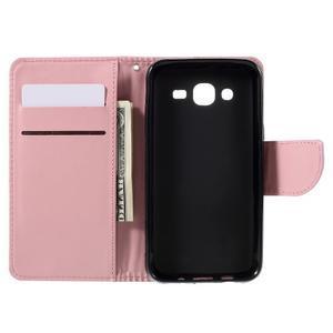 Peněženkové pouzdro na mobil Samsung Galaxy J5 - růžové - 7