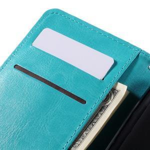 Peněženkové pouzdro na mobil Samsung Galaxy J5 - modré - 7