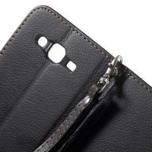 Leaf peněženkové pouzdro na Samsung Galaxy J5 - černé - 7