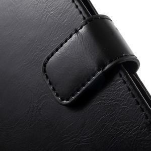 Mercury PU kožené pouzdro na mobil Samsung Galaxy J5 - černé - 7