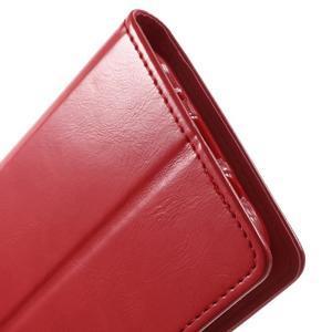 Mercury PU kožené pouzdro na mobil Samsung Galaxy J5 - červené - 7