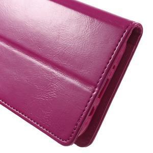 Mercury PU kožené pouzdro na mobil Samsung Galaxy J5 - rose - 7