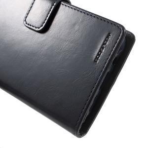 Mercury PU kožené pouzdro na mobil Samsung Galaxy J5 - tmavěmodré - 7