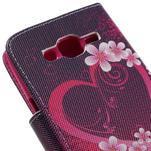 Dairy peněženkové pouzdro na Samsung Galaxy J5 - srdce - 7/7