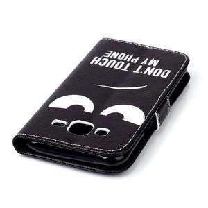 Pictu peněženkové pouzdro na Samsung Galaxy J5 - nešahat - 7
