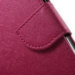 Crossy koženkové pouzdro na Samsung Galaxy J5 - rose - 7/7