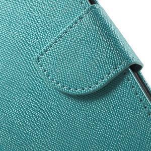 Crossy koženkové pouzdro na Samsung Galaxy J5 - modré - 7