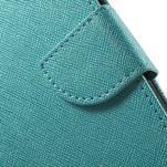 Crossy koženkové pouzdro na Samsung Galaxy J5 - modré - 7/7