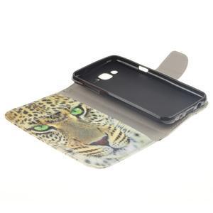 Standy peněženkové pouzdro na Samsung Galaxy J5 - gepard - 7