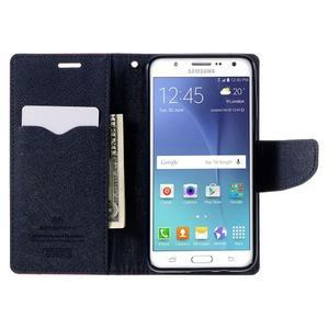 Diary PU kožené pouzdro na mobil Samsung Galaxy J5 (2016) - rose - 7