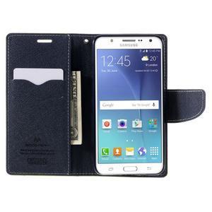 Diary PU kožené pouzdro na mobil Samsung Galaxy J5 (2016) - zelené - 7