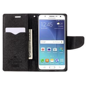 Diary PU kožené pouzdro na mobil Samsung Galaxy J5 (2016) - hnědé - 7