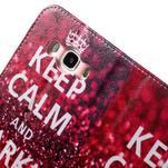 Nice peněženkové pouzdro pro Samsung Galaxy J5 (2016) - Keep Calm - 7/7