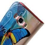 Nice peněženkové pouzdro pro Samsung Galaxy J5 (2016) - motýl - 7/7