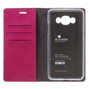 Moons PU kožené pouzdro na Samsung Galaxy J5 (2016) - rose - 7