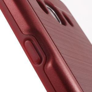 Gelový obal s plastovou výstuhou na Samsung Galaxy J5 (2016) - červený - 7