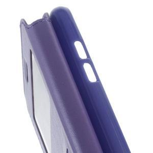 Royal pouzdro s okýnkem na Samsung Galaxy J5 (2016) - fialové - 7