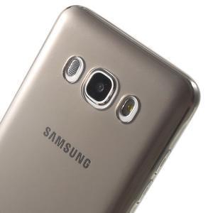 Ultratenký slim gelový obal na Samsung Galaxy J5 (2016) - šedý - 7