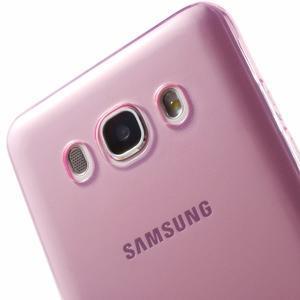 Ultratenký slim gelový obal na Samsung Galaxy J5 (2016) - růžový - 7