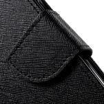 Routy PU kožené pouzdro na Samsung Galaxy J5 (2016) - černé - 7/7