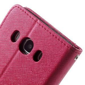 Routy PU kožené pouzdro na Samsung Galaxy J5 (2016) - červené - 7