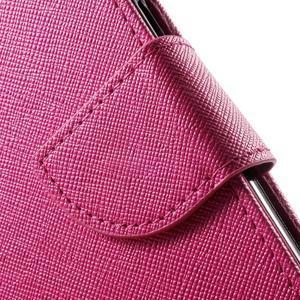Routy PU kožené pouzdro na Samsung Galaxy J5 (2016) - rose - 7