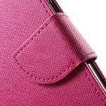 Routy PU kožené pouzdro na Samsung Galaxy J5 (2016) - rose - 7/7