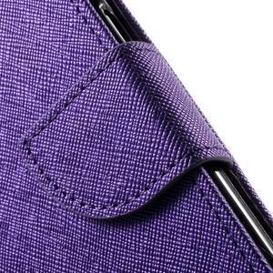 Routy PU kožené pouzdro na Samsung Galaxy J5 (2016) - fialové - 7