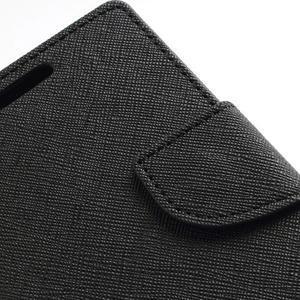 Diary PU kožené pouzdro na mobil Samsung Galaxy S2 - černé - 7