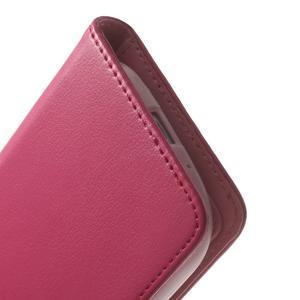 RichDiary PU kožené pouzdro na Samsung Galaxy S3 - rose - 7