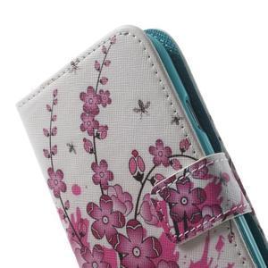Knížečkové pouzdro na Samsung Galaxy S3 - kvetoucí větvička - 7