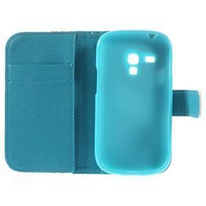 Knížkové pouzdro na mobil Samsung Galaxy S3 mini - tlapky - 7
