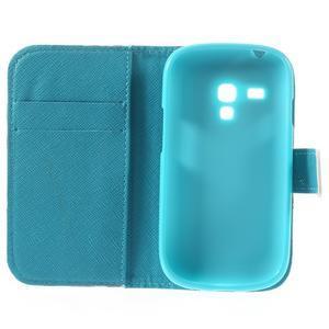 Knížkové pouzdro na mobil Samsung Galaxy S3 mini - autíčka - 7