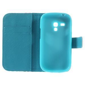 Knížkové pouzdro na mobil Samsung Galaxy S3 mini - motýlci - 7