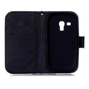 Knížkové PU kožené pouzdro na Samsung Galaxy S3 mini - lapač snů - 7