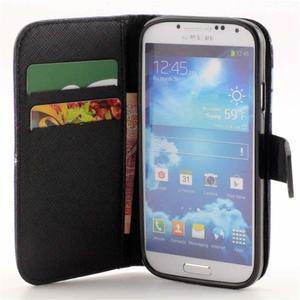 Standy peněženkové pouzdro na Samsung Galaxy S4 - monstrum - 7