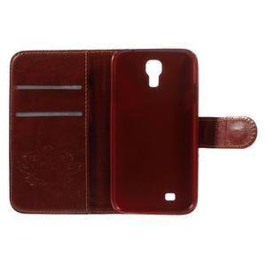 Elegant peněženkové pouzdro na Samsung Galaxy S4 - mortal - 7