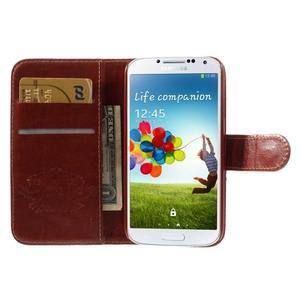 Elegant peněženkové pouzdro na Samsung Galaxy S4 - Eiffelova věž - 7