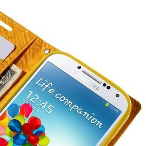 Sunny PU kožené pouzdro na mobil Samsung Galaxy S4 - zelené - 7